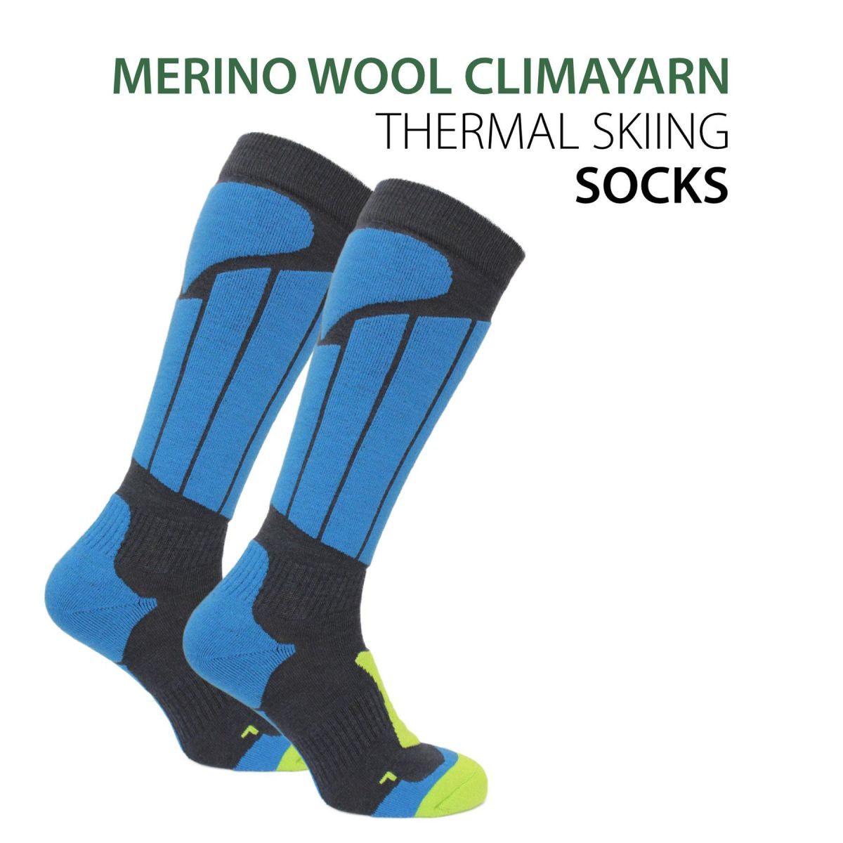 Norfolk Thermal skiing and snowboarding socks - Aspen
